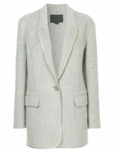 Alexander Wang single-breasted coat - Grey