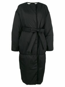 Givenchy belted padded coat - Black