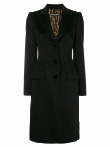 Dolce & Gabbana single-breasted coat - Black