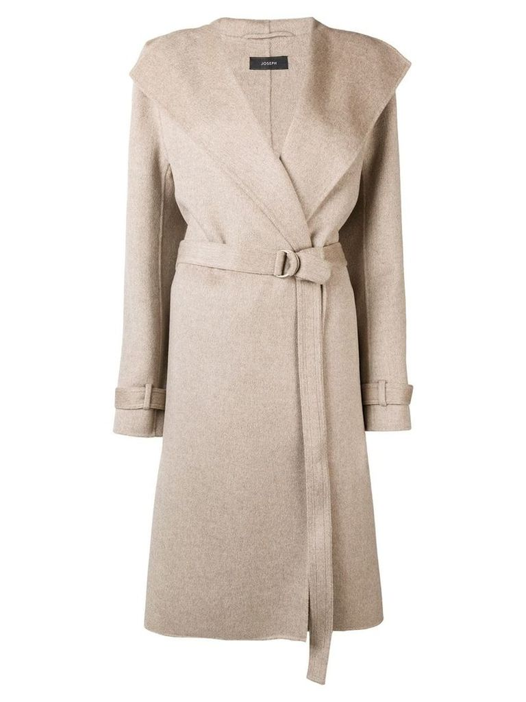 Joseph belted duster coat - Neutrals