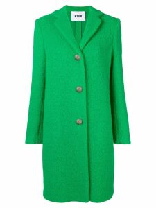 MSGM buttoned coat - Green