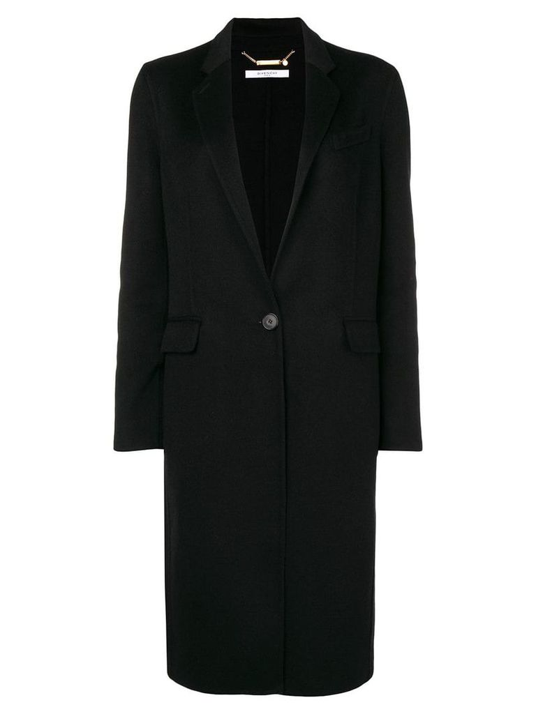 Givenchy longline coat - Black