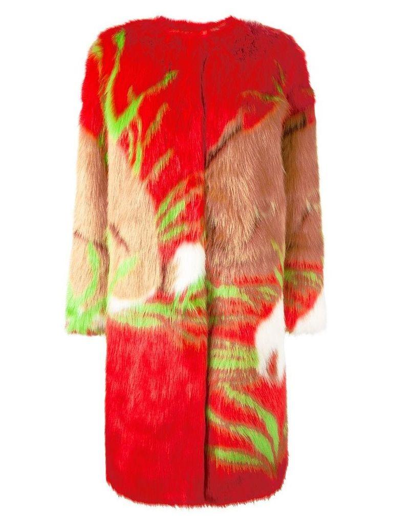Marco De Vincenzo 'Ecologica' coat - Red