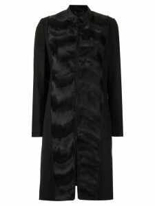 Tufi Duek panelled coat - Black