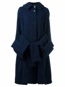 Henrik Vibskov Post pouch pocket coat - Blue