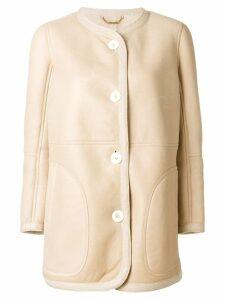 Chloé classic coat - Neutrals