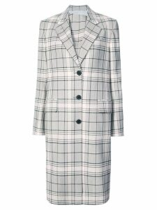 Calvin Klein 205W39nyc classic single-breasted coat - NEUTRALS