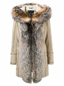 Philipp Plein Amazing Fur coat - Neutrals