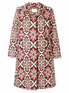 La Doublej Nylon Loden Palazzo coat - Pink