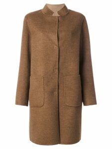 Manzoni 24 single breasted coat - Brown