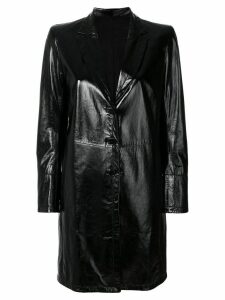 Sylvie Schimmel single breasted coat - Black
