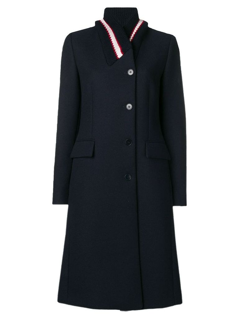 Stella McCartney tailored single-breasted coat - Blue