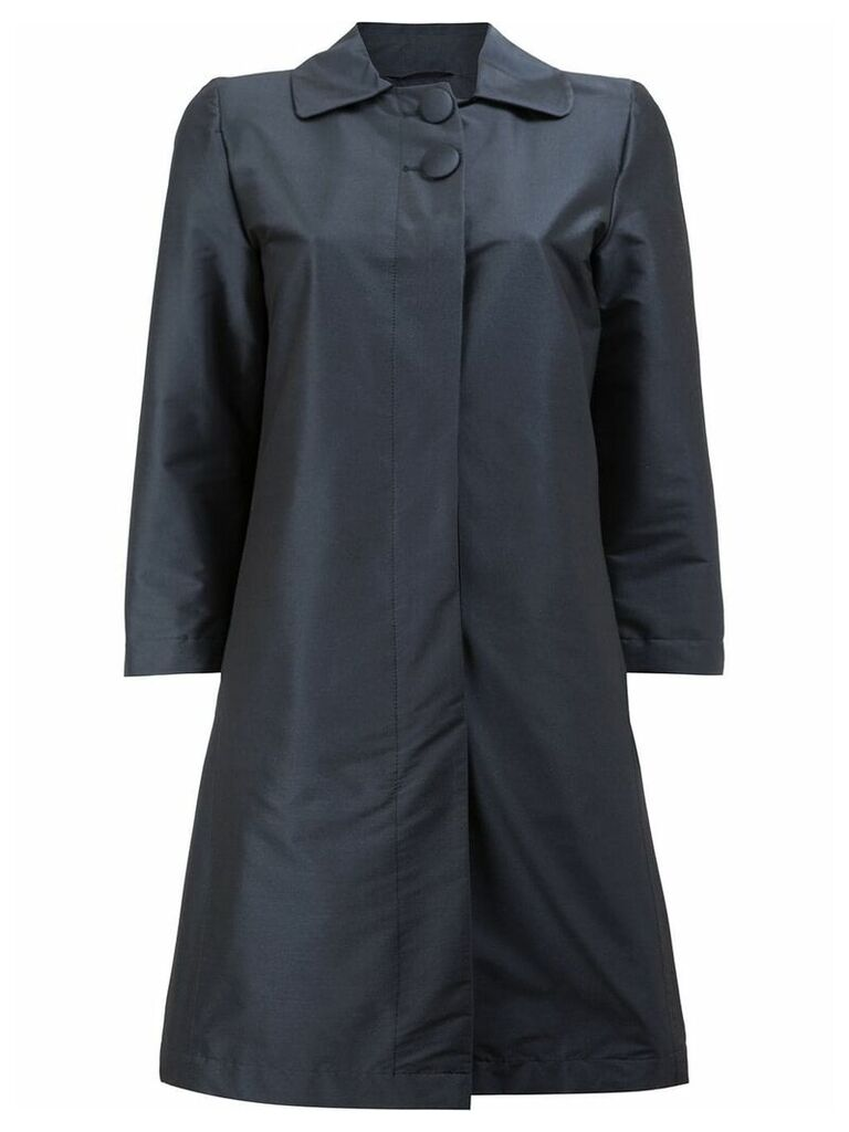 Herno two button trench - Blue