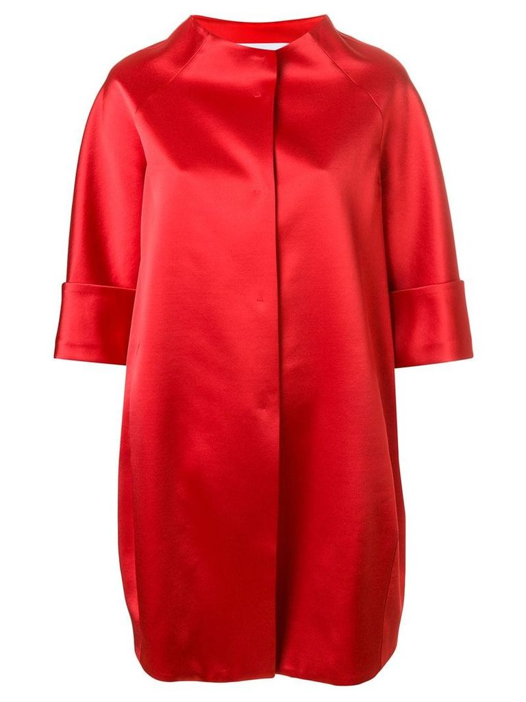 Gianluca Capannolo cocoon coat - Red
