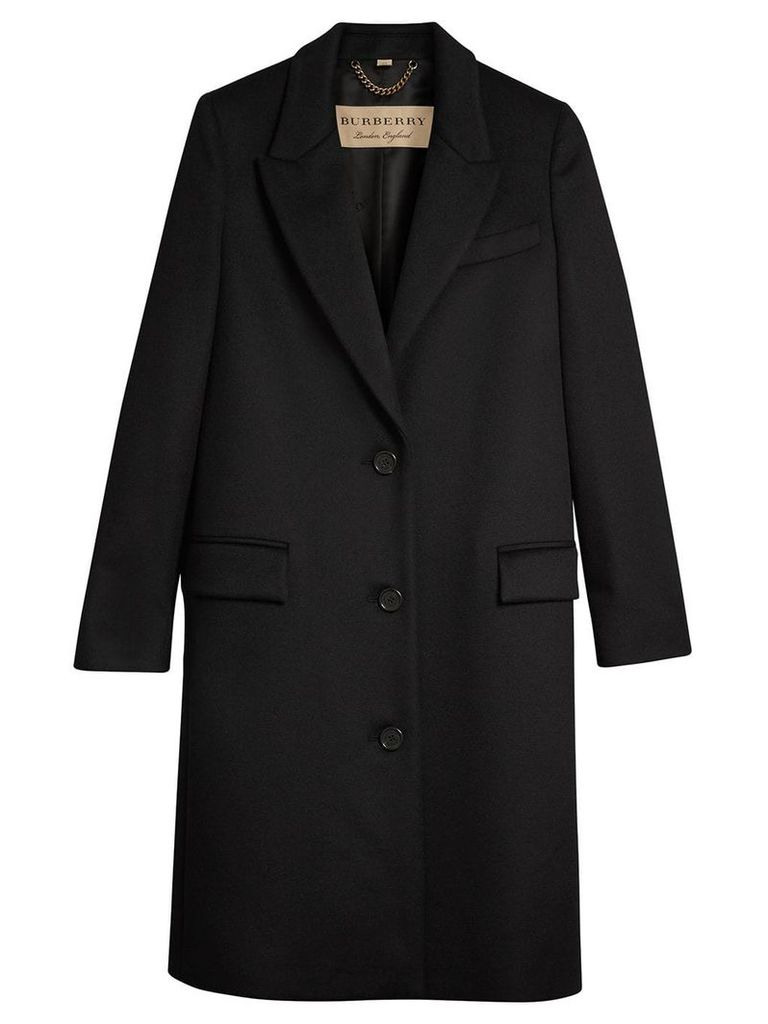 Burberry tailored coat - Black