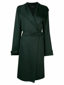 Joseph tailored single-breasted coat - Green