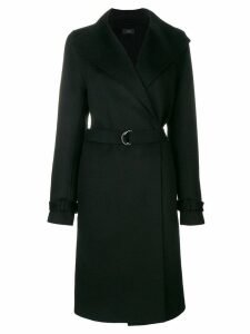 Joseph belted coat - Black