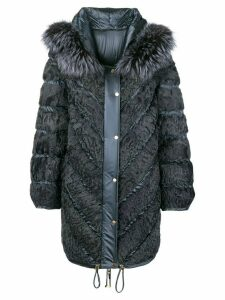 Liska hooded padded coat - Grey