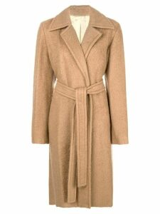 Helmut Lang tailored single-breasted coat - Neutrals