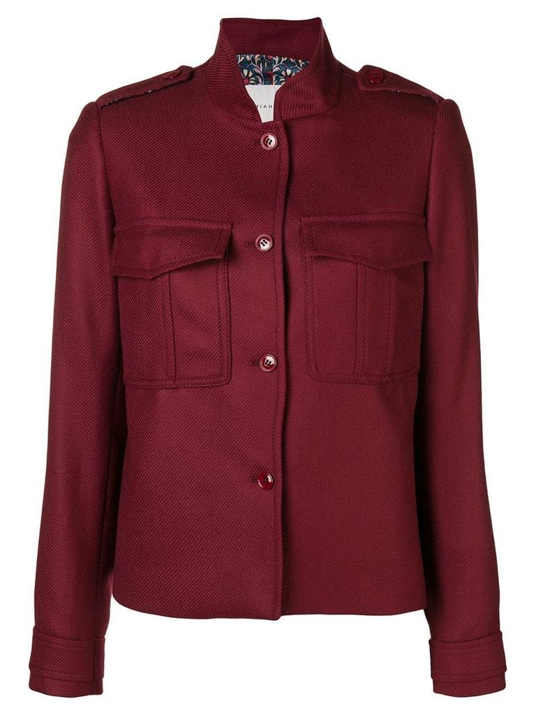 Miahatami lightweight coat - Red