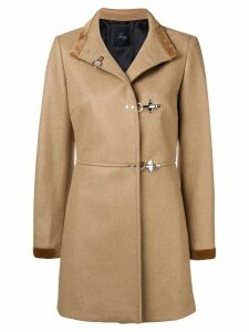 Fay pin fasten coat - Neutrals
