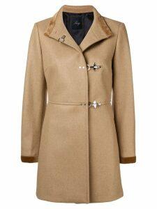Fay pin fasten coat - Neutrals