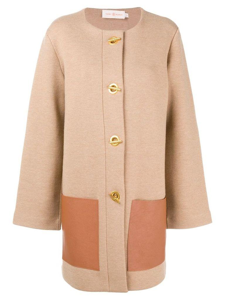 Tory Burch Reagan coat - Brown