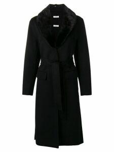 P.A.R.O.S.H. tie-waist coat - Black