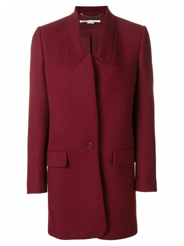 Stella McCartney Bryce coat - Red