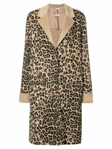 P.A.R.O.S.H. leopard coat - Brown