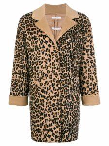 P.A.R.O.S.H. leopard pattern coat - Neutrals