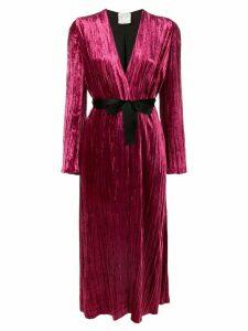 Forte Forte belted robe coat - Pink