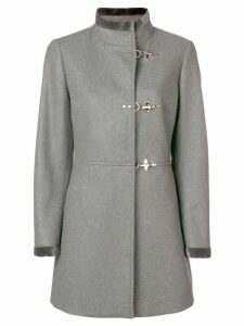 Fay toggle single breasted coat - Grey
