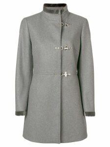 Fay toggle single breasted coat - Grey