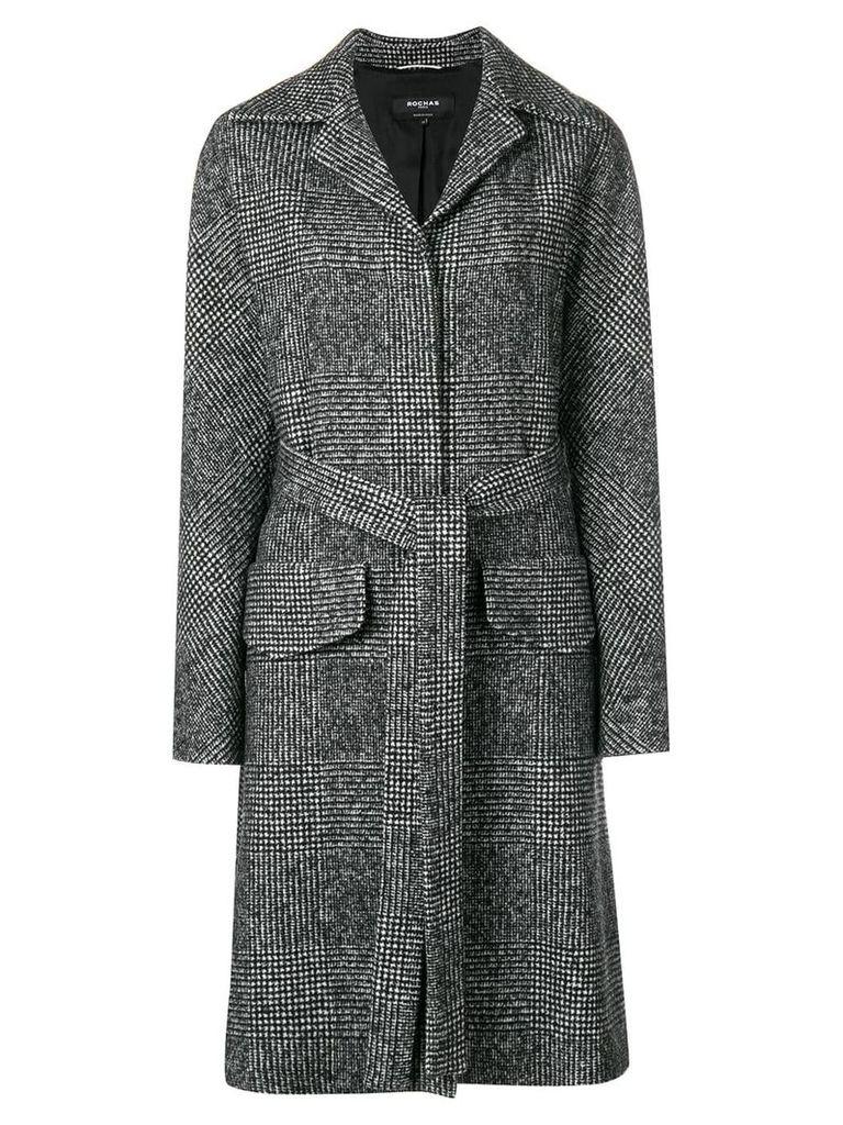 Rochas single breasted coat - Black