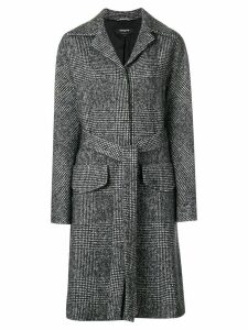 Rochas single breasted coat - Black