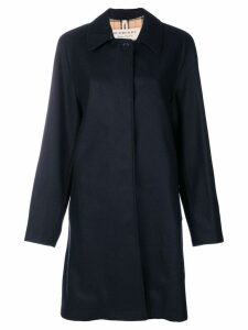 Burberry The Car Coat - Blue