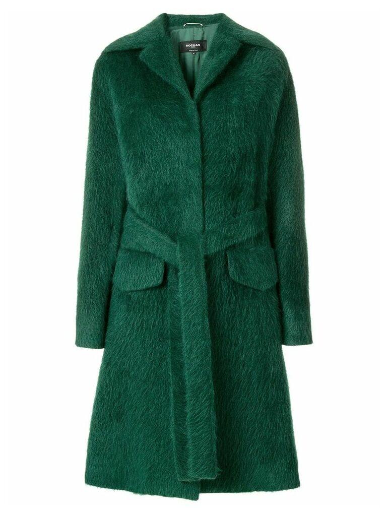 Rochas single breasted coat - Green