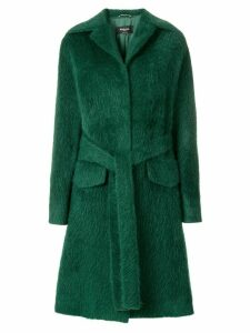 Rochas single breasted coat - Green