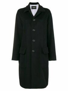 Dsquared2 single-breasted coat - Black