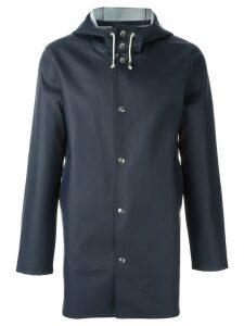 Stutterheim Stockholm raincoat - Blue