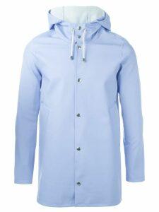 Stutterheim hooded coat - Blue