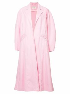 Assel oversized trench coat - Pink