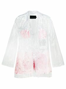 Neith Nyer Mariah Clear Feather coat - White