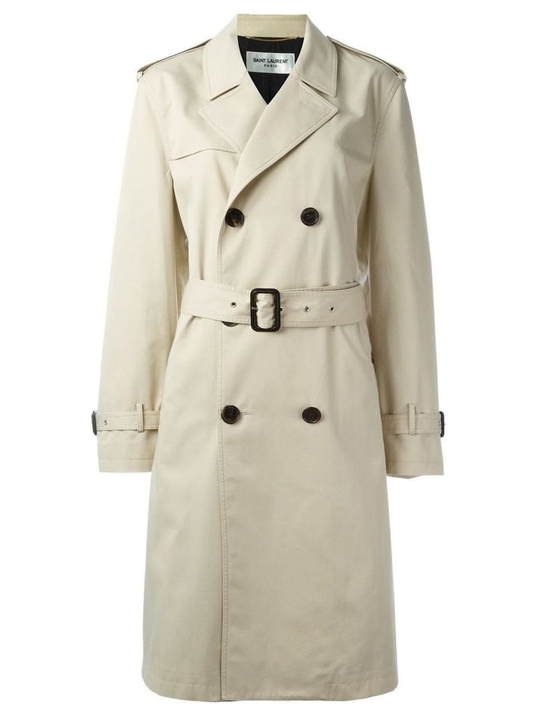Saint Laurent classic trench coat - Neutrals
