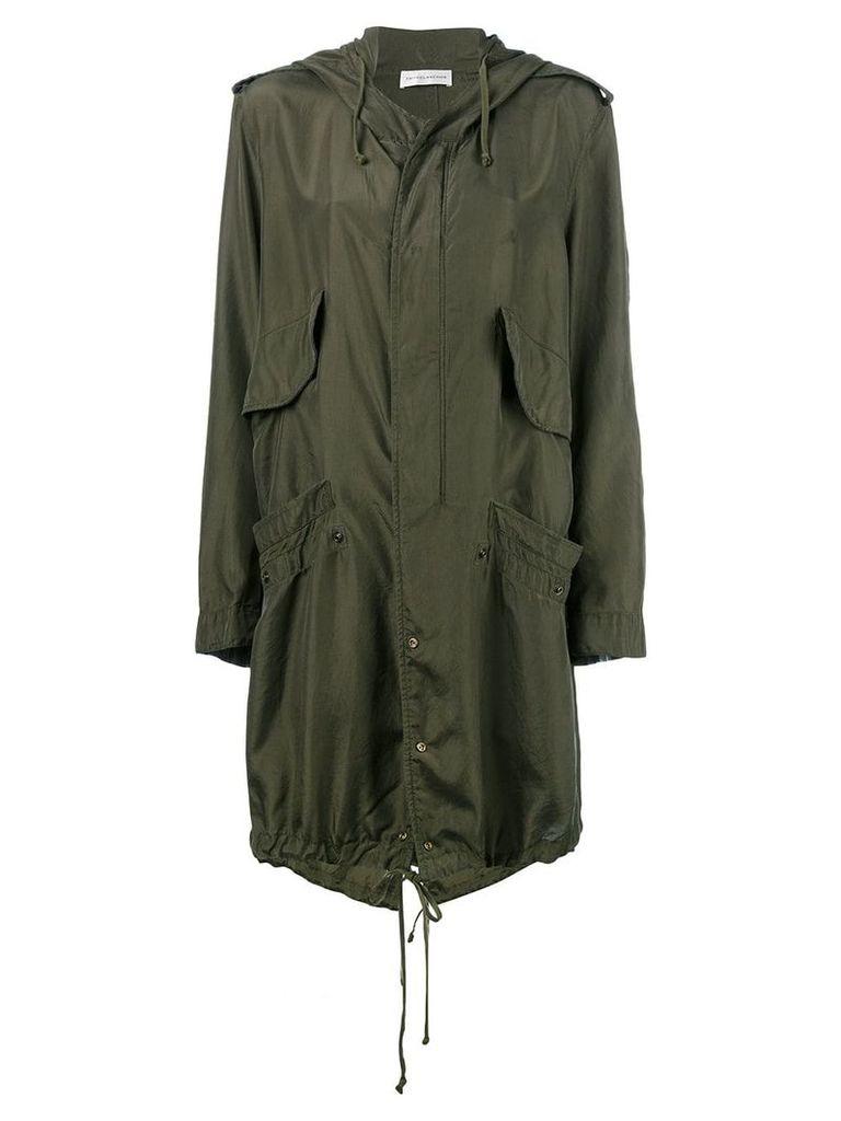 Faith Connexion hooded raincoat - Green