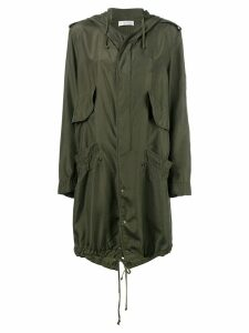 Faith Connexion hooded raincoat - Green