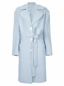 Natasha Zinko classic trench coat - Blue