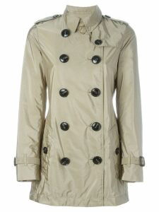 Burberry 'Kerringdale' double-breasted raincoat - Neutrals