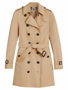 Burberry Sandringham Mid-length Trench Coat - NEUTRALS